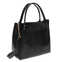 Женская кожаная сумка Ricco Grande 1L908-black