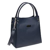 Женская кожаная сумка Ricco Grande 1L908-blue