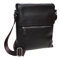 Мужская кожаная сумка Borsa Leather k10013-brown