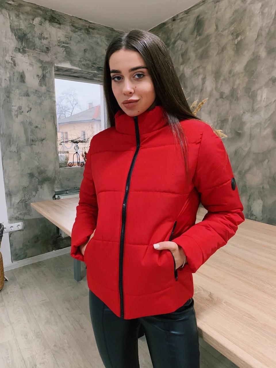 Стильная женская куртка осень-весна Стефания 6 цветов (42-52)