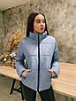 Стильная женская куртка осень-весна Стефания 6 цветов (42-52), фото 3