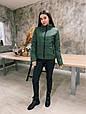 Стильная женская куртка осень-весна Стефания 6 цветов (42-52), фото 4