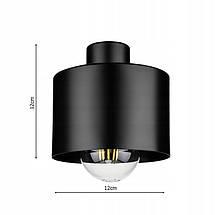 Дизайнерский подвесной потолочный светильник выполнен в современном стиле, люстра LX-1040 BLACK, фото 3
