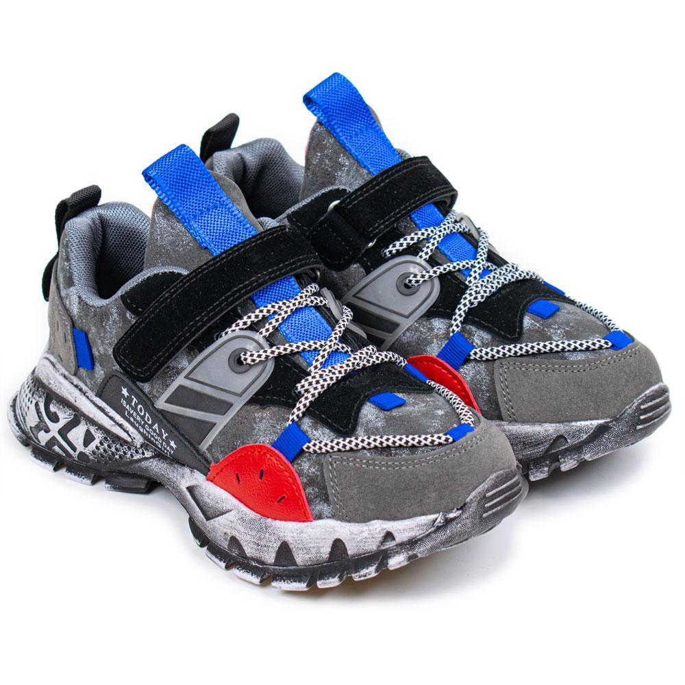 Кроссовки для мальчиков Kimboo 33  черный/ красный 980867