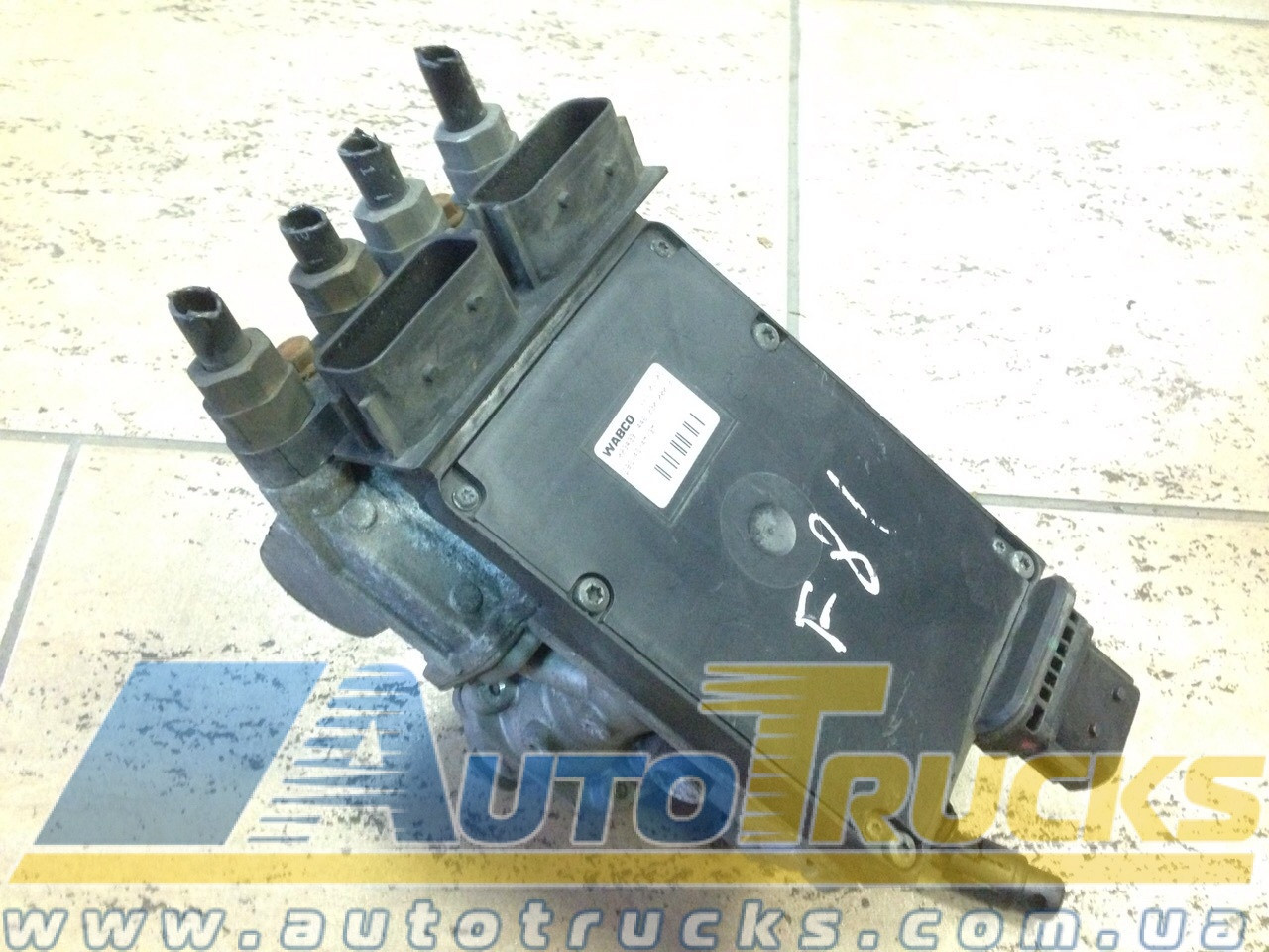 Кран Главный тормозной Б/у для IVECO (4462300002; 4800200100)