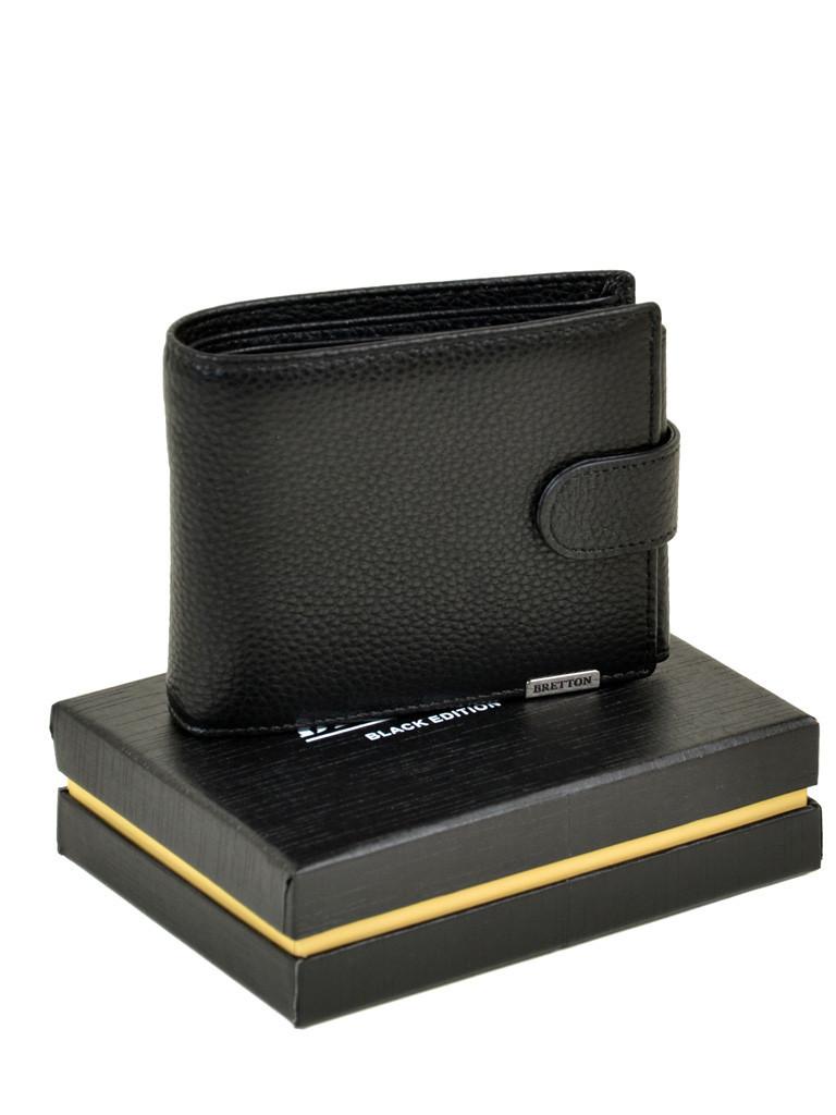 Кошелек CLASSIC. кожа BRETTON M3603 black