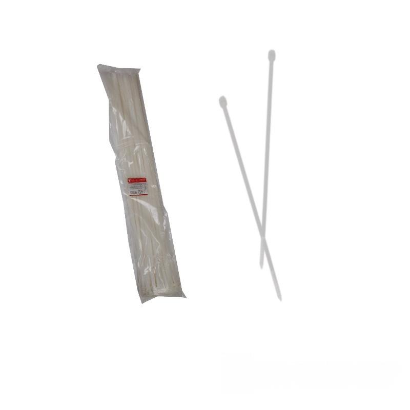 Стяжка кабельная Белый 9х1000 мм  100шт./п.