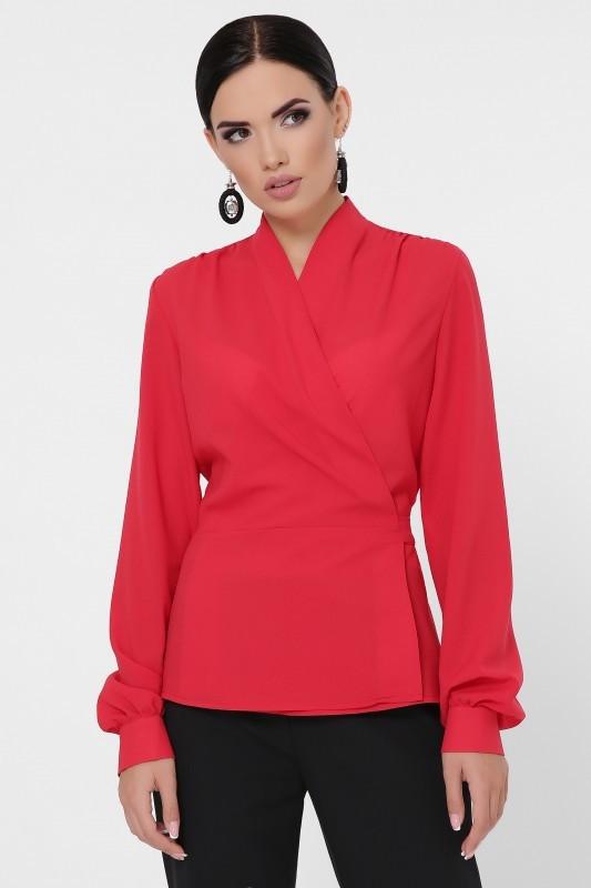Оригинальная блуза Clare красный (42-48)