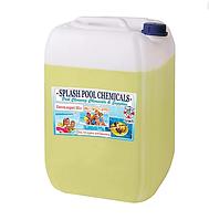 Гипохлорит натрия марки А 30 литров.Жидкий хлор SPLASH для дезинфекции поверхностей, помещений, оборудования