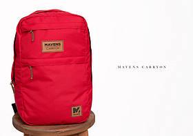 Рюкзак «Mavens Carryon» для ручной клади Wizz Air (40х30х20) | Ryanair (40х20х25)  Цвет красный