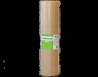 Армирующая оцинкованная сетка сварная, ячейки 20х20мм, для укрепления штукатурки (Венгрия)