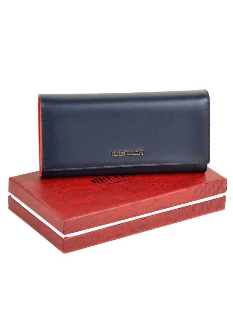 Кошелек Color женский кожаный BRETTON W7232 navi Распродажа