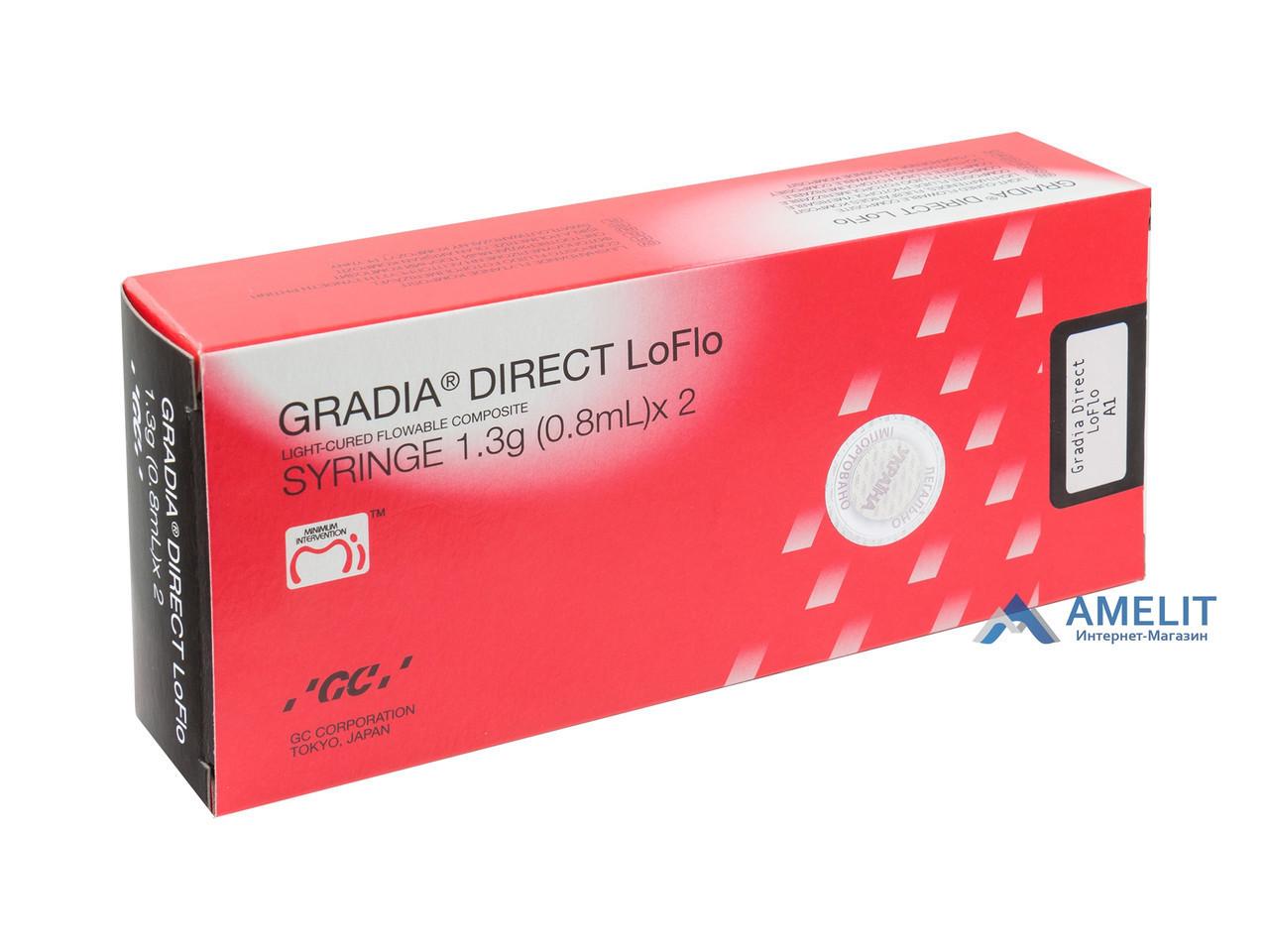 Градиа Дайрект ЛоФлоу А3,5 (Gradia Direct Lo Flo, GC), шприц 1,3 г