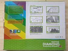"""Алмазная живопись 40*50см. """"Кошка"""" Z7039 в подарочной коробке, алмазная мозайка, фото 3"""