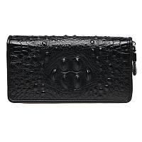Кожаный клатч Borsa Leather K11732-black
