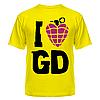 Футболка I love Green Day