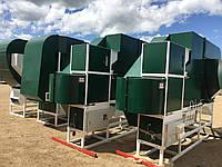 Сепараторы зерна аэродинамические от 3 до 200 т/ч, очистка зерна