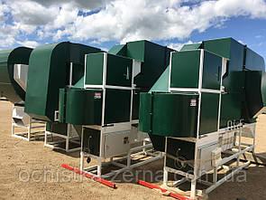 Сепараторы зерна аэродинамические от 3 до 200 т/ч,  Подготовка посевного материала