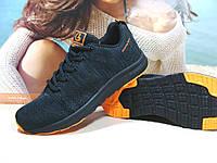 Кроссовки мужские Classica Neo черно-оранжевые 42 р., фото 1