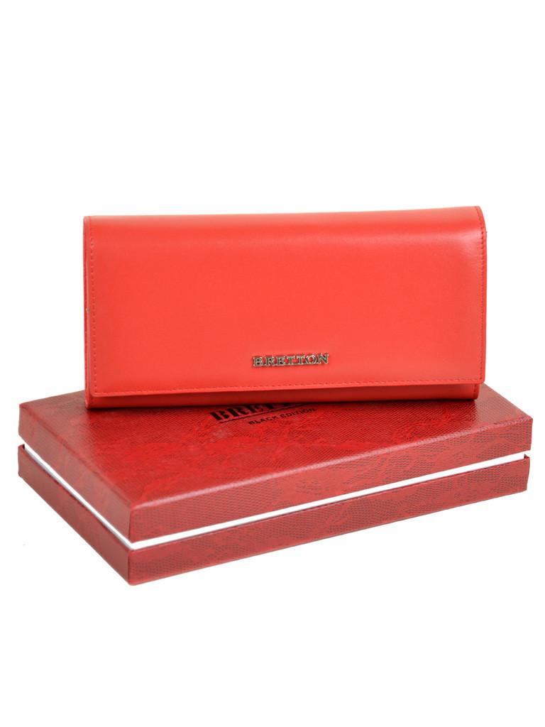 Кошелек Color женский кожаный BRETTON W7232 red Распродажа