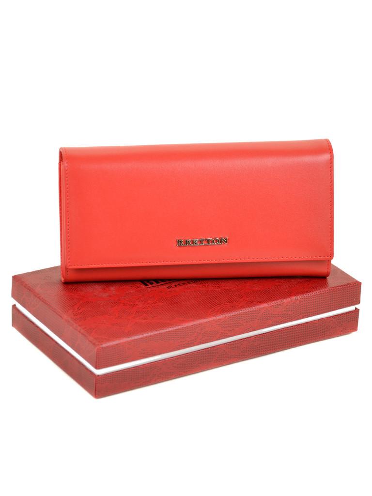 Кошелек Color женский кожаный BRETTON W7237 red Распродажа