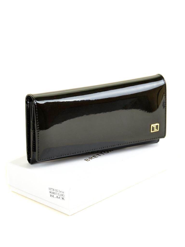 Кошелек GOLD кожа BRETTON W0807 black Распродажа