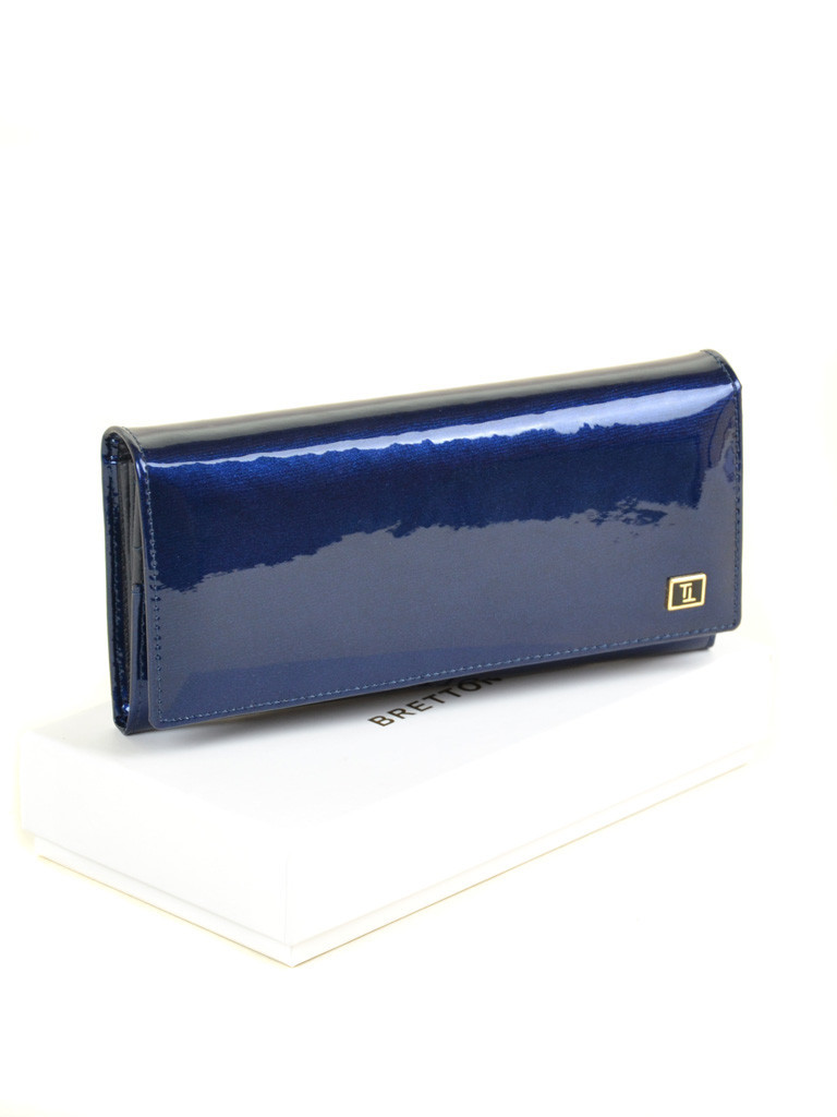 Кошелек GOLD кожа BRETTON W0807 dark-blue Распродажа