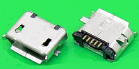 Разъем microUSB 5pin для Fly/ZTE/Nokia/Motorola/Hisense/Huawei (MC-017)