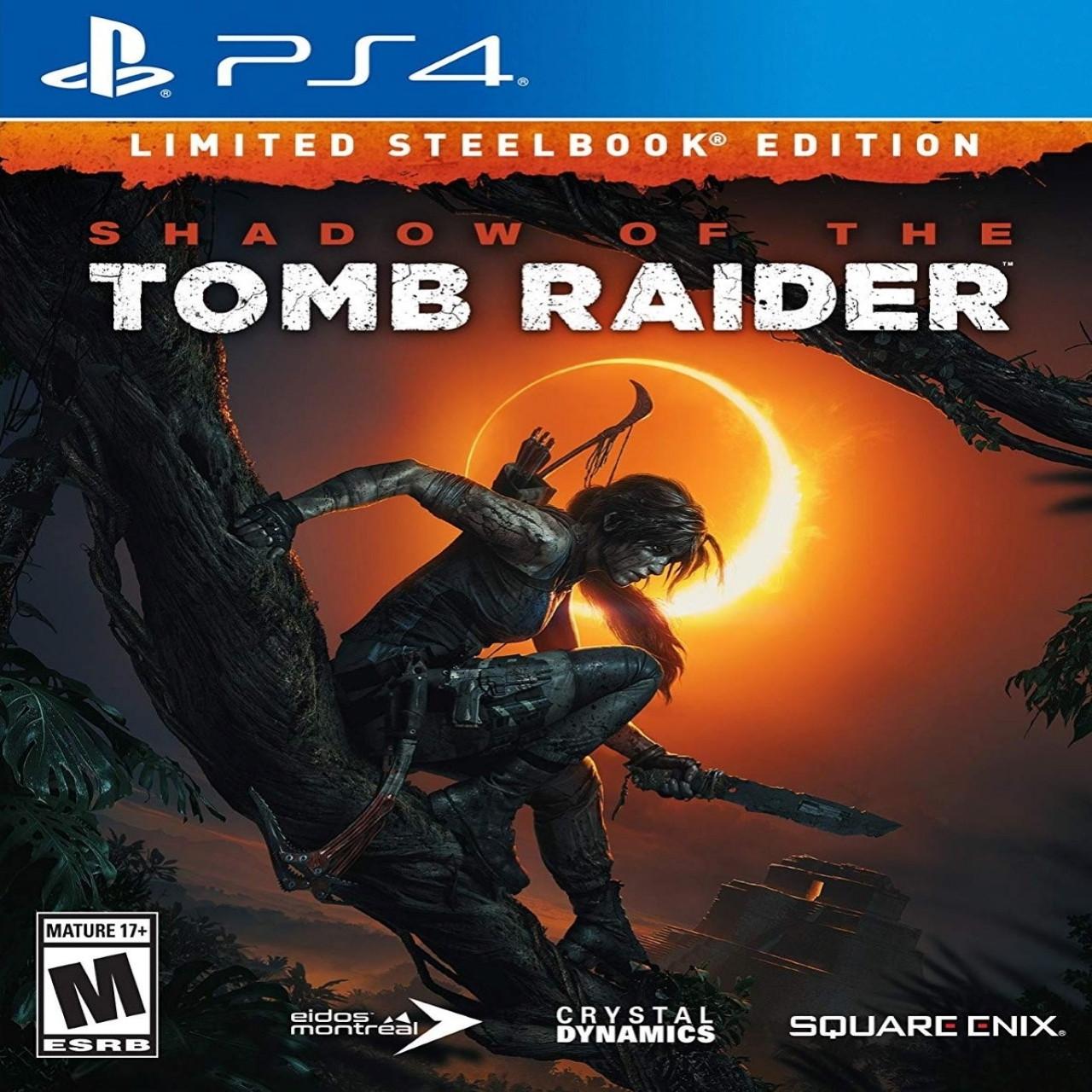 Shadow of the Tomb Raider RUS PS4 (Б/В)
