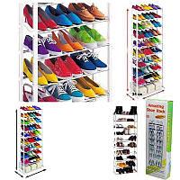 Органайзер Amazing shoe rack Полка для обуви на 30 пар, фото 1