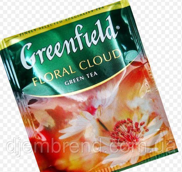 """Чай зеленый пакетированный Greenfield """"Floral Cloud"""" 100шт HoReCa в полиэтиленовом пакете"""