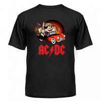 Футболка с группой AC DC