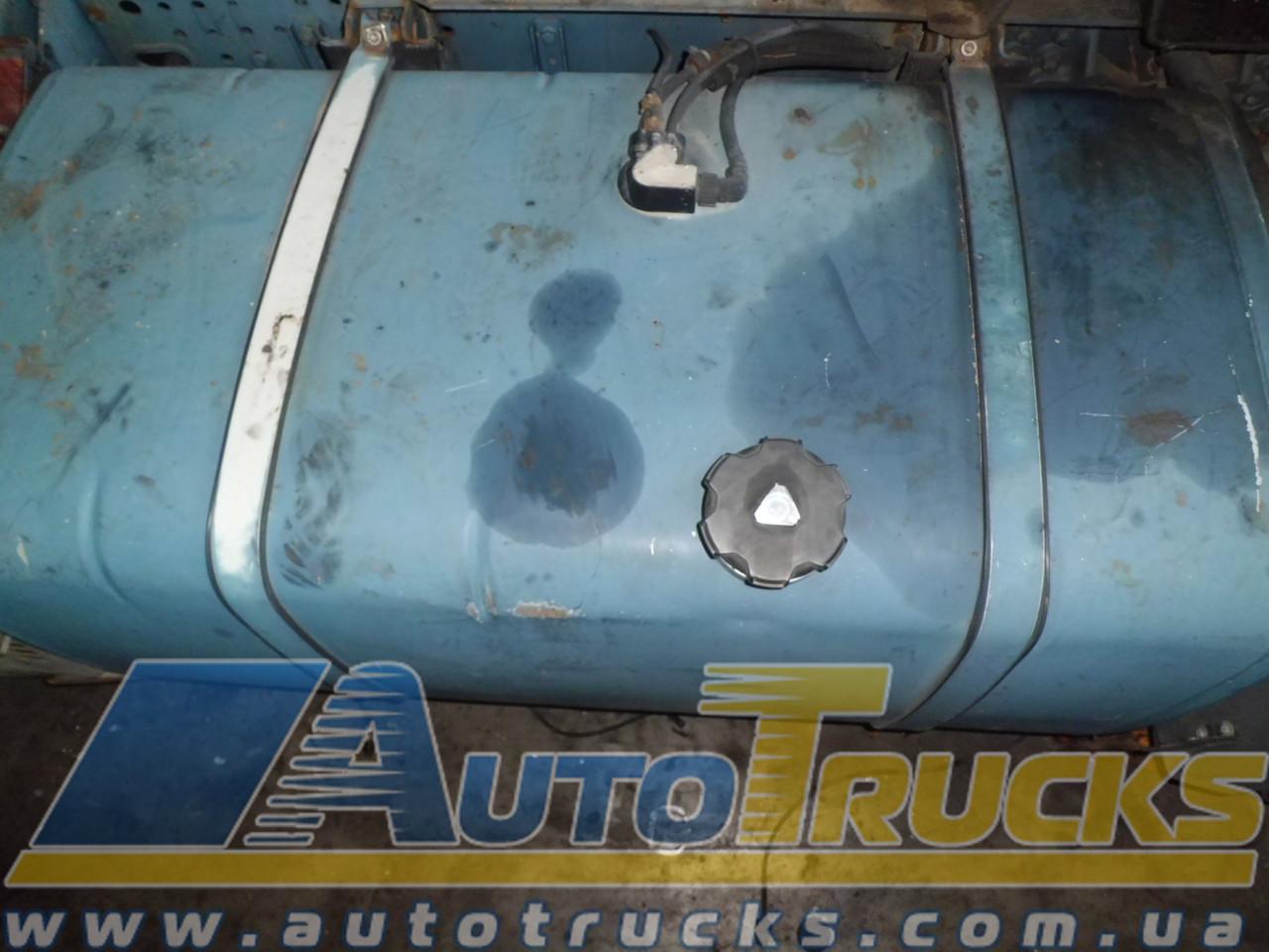 Бак 400 литров с топливозаборником, крышкой и крепежом (алюминий) Б/у для IVECO (98472352;)