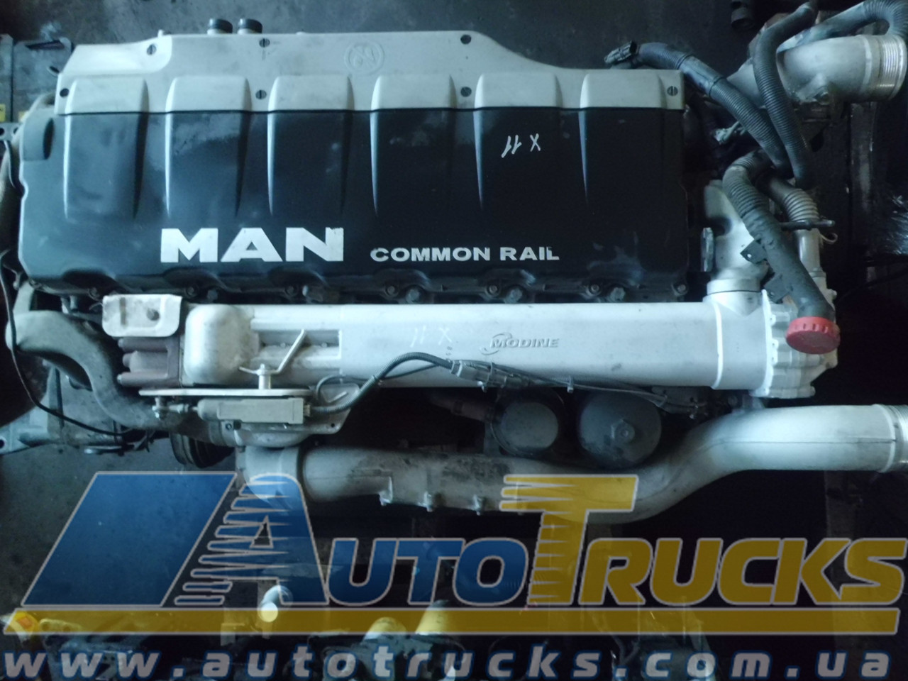 Двигун D2676 LF05 01-08/10-22/25-28/31-33/37-50/54-55 для MAN (51519422851945)