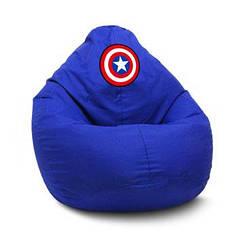 "Кресло мешок груша ""Капитан Америка"""