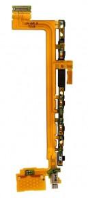 Шлейф Sony E6833, E6853, E6883 Xperia Z5 межплатный с кнопкой включенеия, громкости и вибромотором