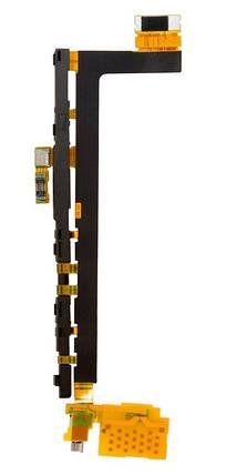 Шлейф Sony E6833, E6853, E6883 Xperia Z5 межплатный с кнопкой включенеия, громкости и вибромотором, фото 2