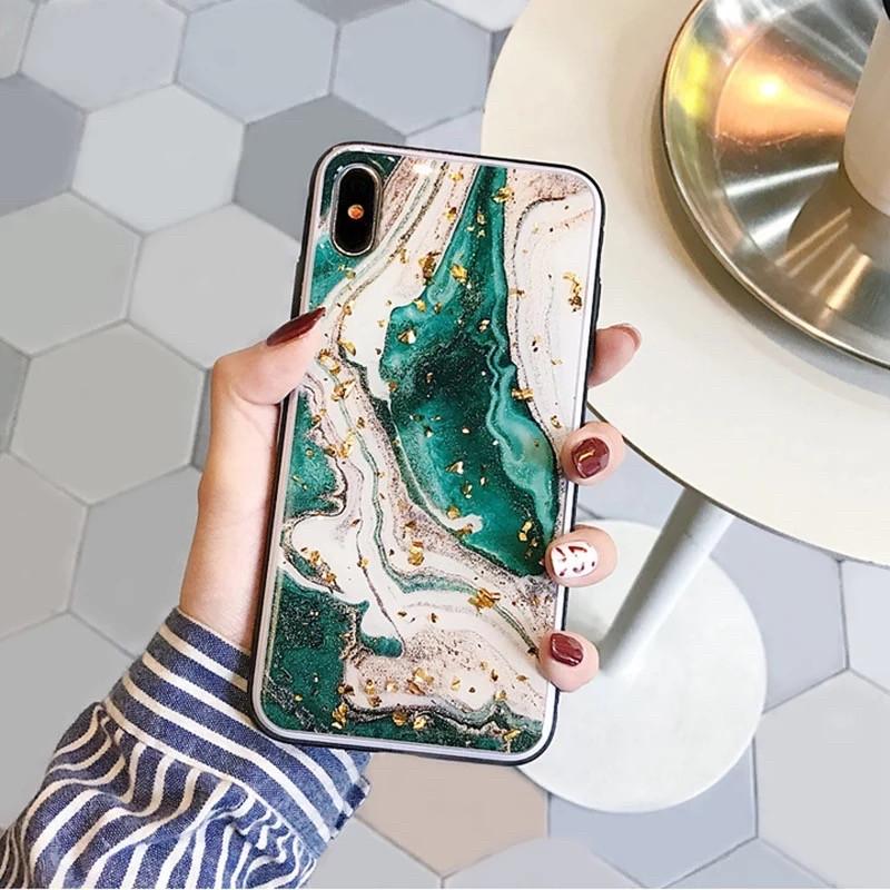 Силиконовый мраморный чехол для Iphone 7 plus/Iphone 8 Plus Beauty