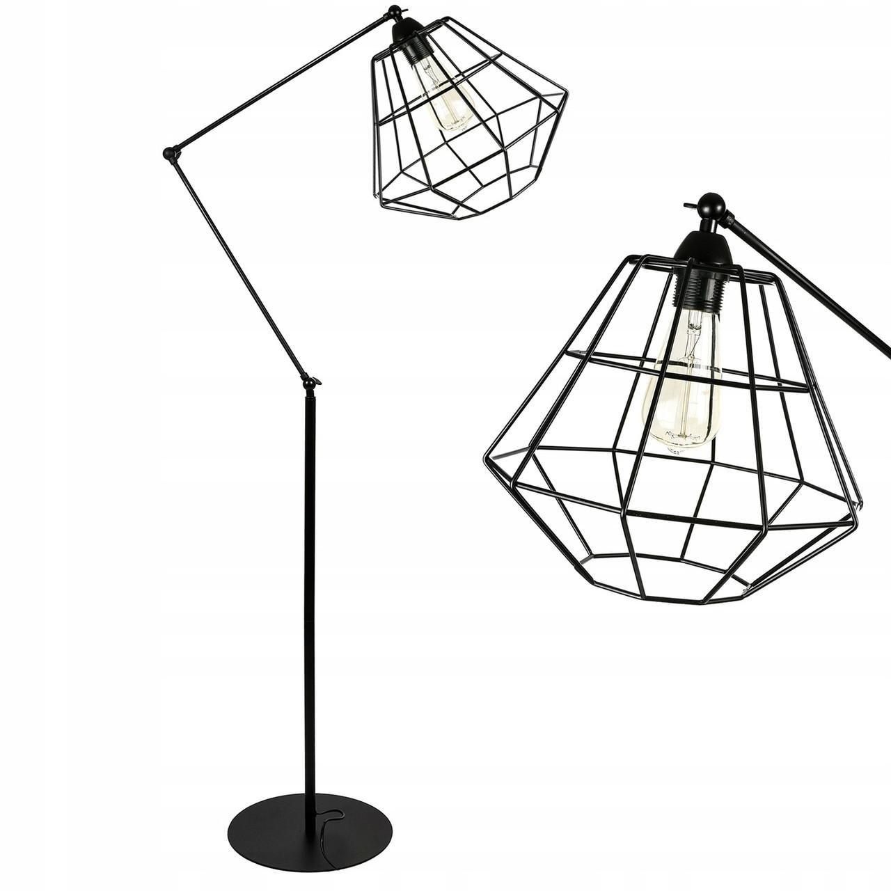 Лампа напольная, напольный светильник в стиле лофт LX-17540