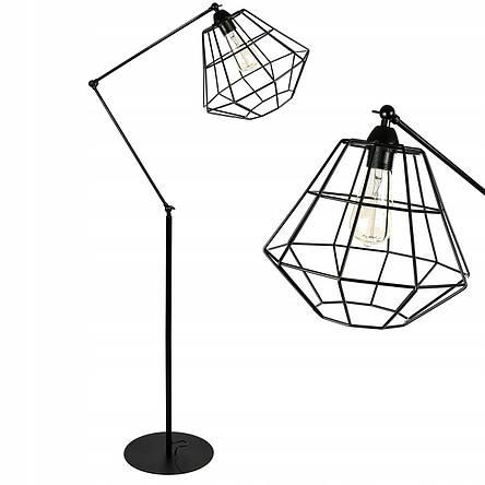 Лампа напольная, напольный светильник в стиле лофт LX-17540, фото 2