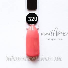 NailApex Gel Polish №320 гель-лак (6мл)