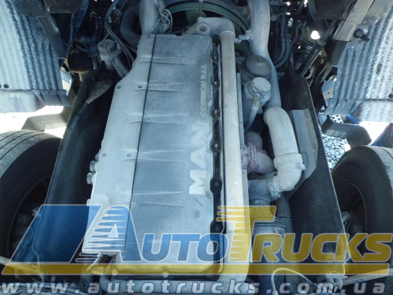 Двигатель TGS 18.360 D2066 Б/у для MAN