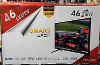"""Телевизор LED HD TV """"46""""с тюнером T2android"""