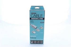 Шнур для мобильного magneti micro магнитный AR 49, Магнитный USB Кабель MAGNETIC с тремя разъемами