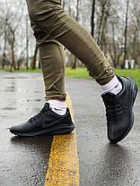 """Кроссовки Nike Run """"Черные"""", фото 3"""