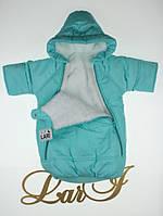 Мешок для новорожденных Снежинка ментол