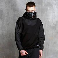 Худи-Анорак мужской черный Кабал  от бренда ТУР