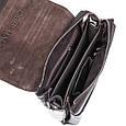 Кожаная мужская сумка с ручкой Karya, фото 6