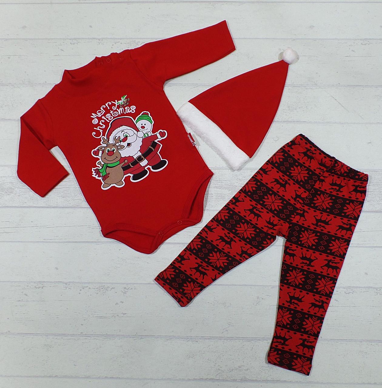 Детский костюм на байке для новорожденных 68 см