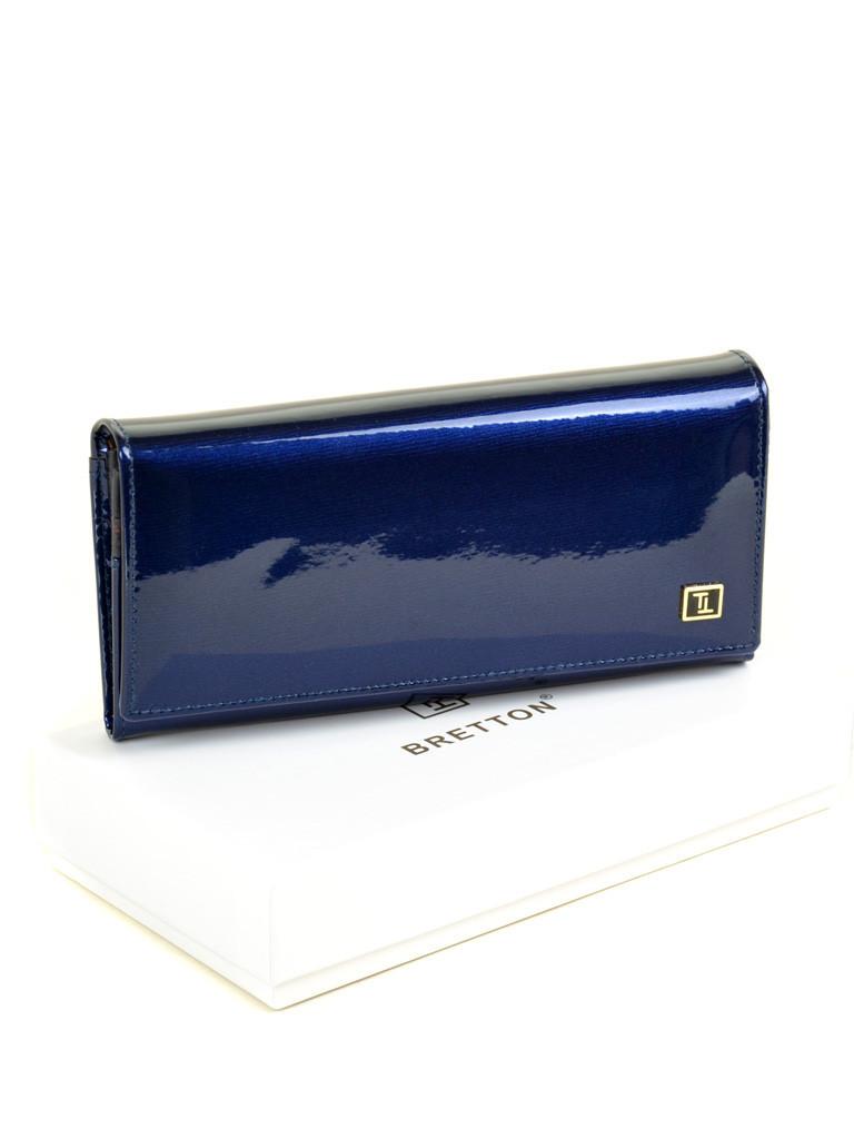 Кошелек GOLD кожа BRETTON W1-V dark-blue Распродажа